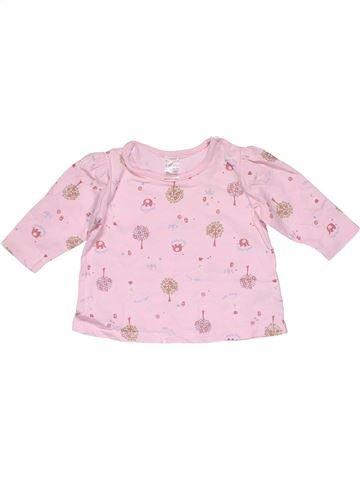 Long sleeve T-shirt girl NEXT pink 6 months winter #32292_1