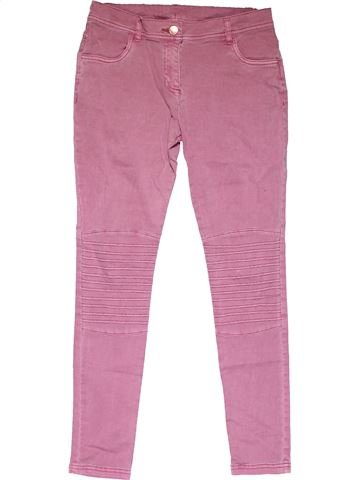 Jeans girl F&F pink 13 years winter #32378_1
