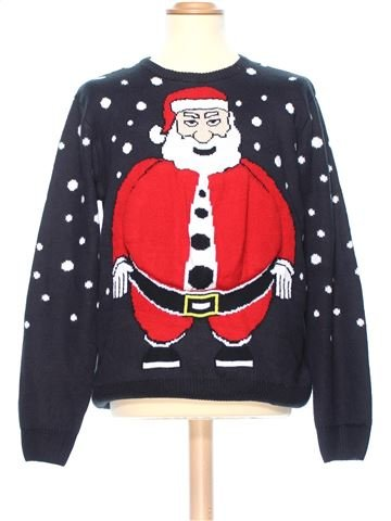 Man Xmas jumper man CEDAR WOOD STATE L winter #36333_1