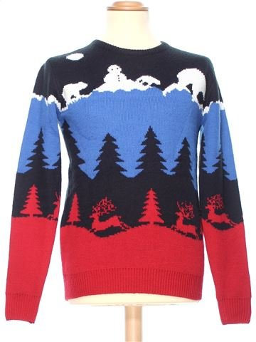 Man Xmas jumper man CEDAR WOOD STATE XS winter #36348_1