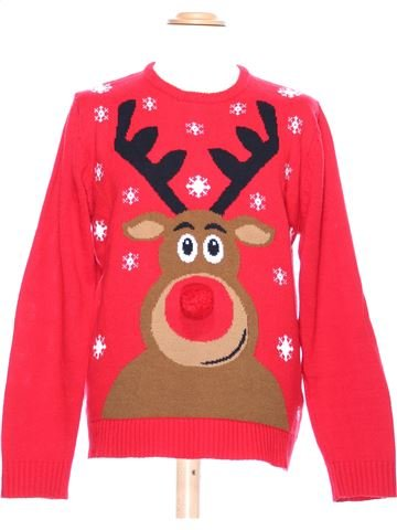 Man Xmas jumper man CEDAR WOOD STATE XL winter #36996_1