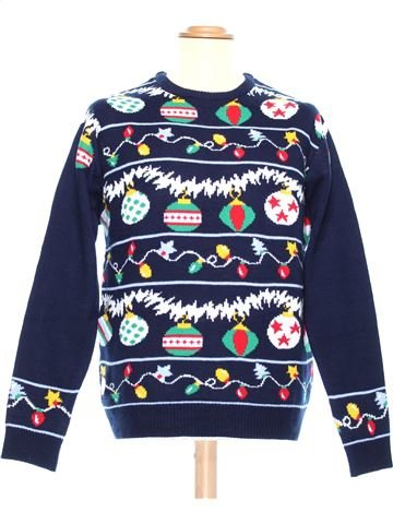 Man Xmas jumper man CEDAR WOOD STATE L winter #37069_1