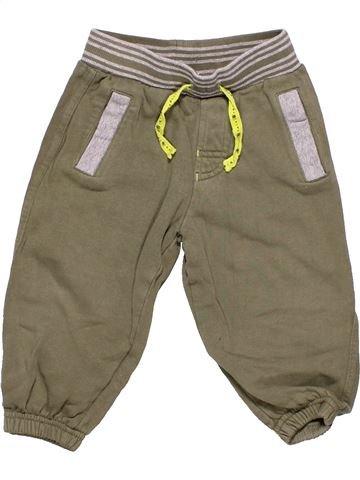 Trouser boy BABY brown 12 months winter #3748_1