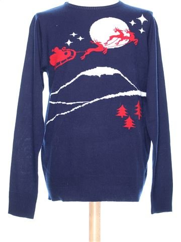 Man Xmas jumper man BRAVE SOUL L winter #37822_1