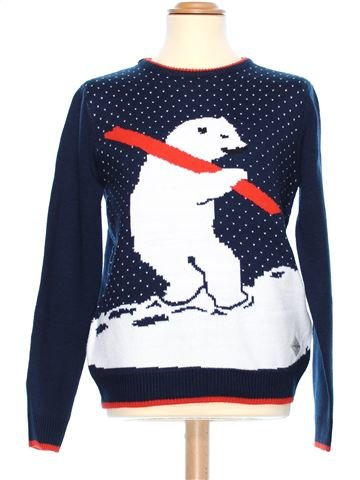 Man Xmas jumper man THREADBARE M winter #38054_1