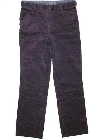 Trouser boy M&S blue 12 years winter #3896_1