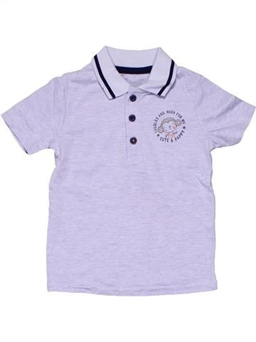Short sleeve polo shirt boy NO BRAND purple 18 months summer #4064_1