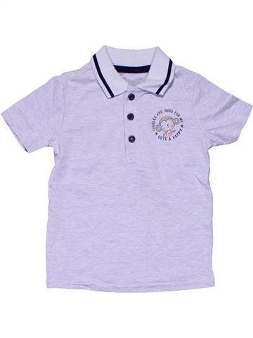 Short sleeve polo shirt boy NO BRAND purple 18 months summer #4064_1