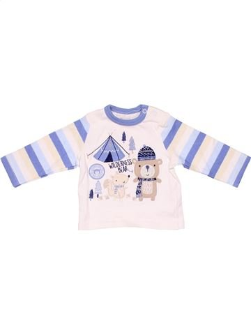 Long sleeve blouse unisex PEP&CO white 3 months winter #4148_1