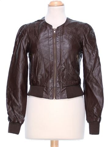 Synthetic Leather Jacket woman NEW LOOK UK 8 (S) winter #42381_1