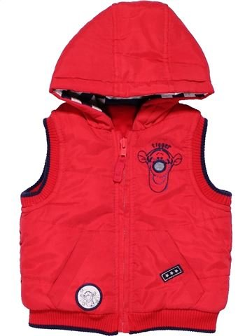 Vest boy GEORGE red 6 months winter #4323_1