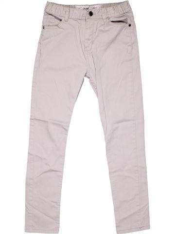 Jeans girl DENIM CO white 12 years winter #4661_1