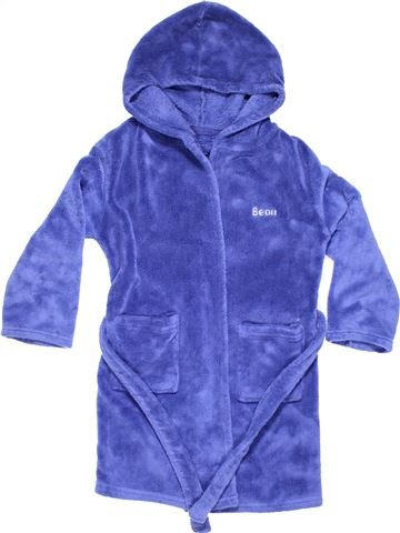 Dressing gown boy BEAU purple 7 years winter #4803_1