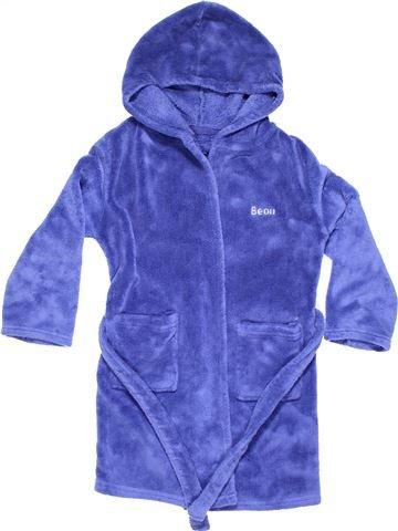 Dressing gown boy BEAU purple 7 years winter #4803_1