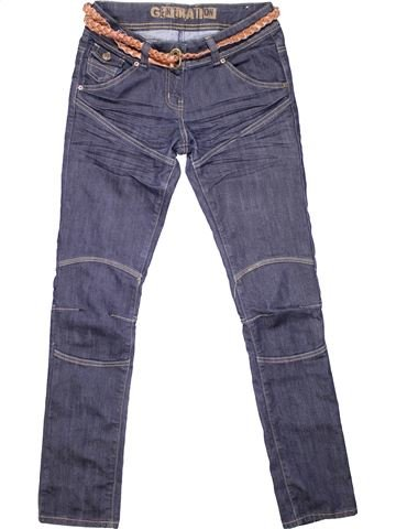 Jeans girl GENERATION blue 13 years winter #5097_1