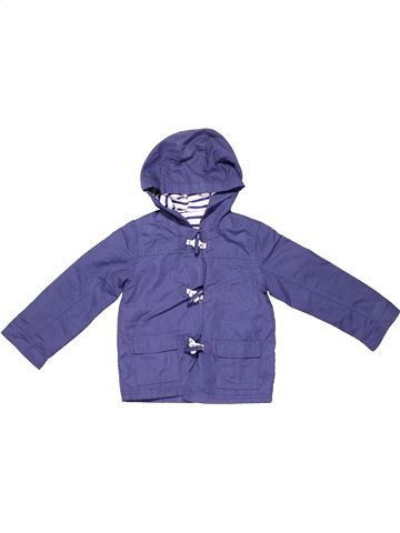 Coat unisex GEORGE purple 2 years winter #5374_1