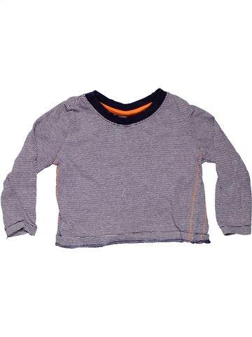 Long sleeve T-shirt boy REBEL gray 18 months summer #5486_1