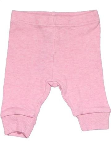 Trouser girl MARKS & SPENCER pink 1 month winter #54_1