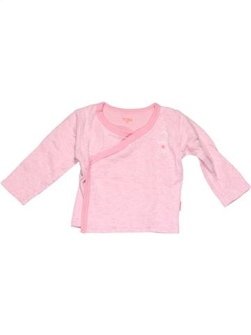 Long sleeve polo shirt girl HEMA pink 3 months winter #6160_1