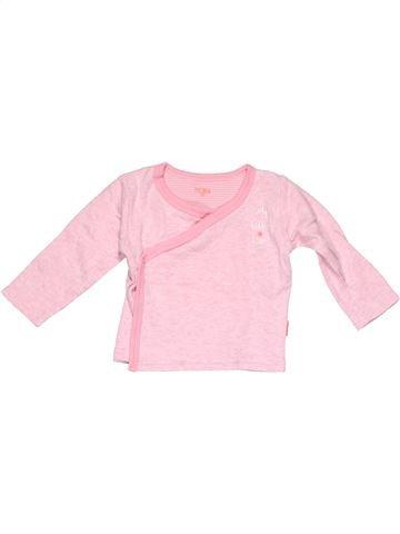 Long sleeve polo shirt girl HEMA pink 3 months winter #6160_1