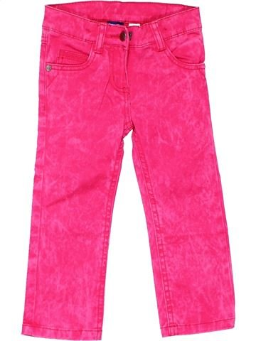 Jeans girl LUPILU pink 2 years summer #6489_1