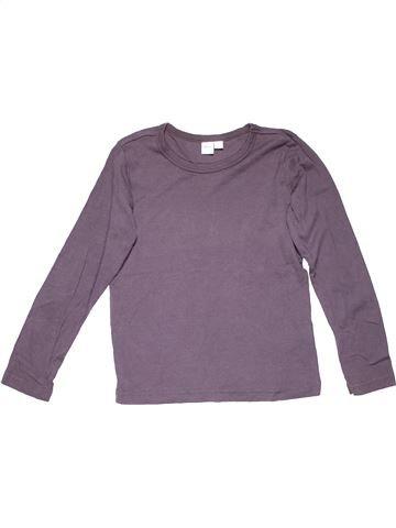 Long sleeve T-shirt unisex ALIVE purple 10 years summer #6624_1