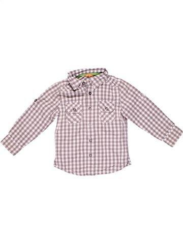 Short sleeve shirt boy HEMA gray 3 years winter #6631_1