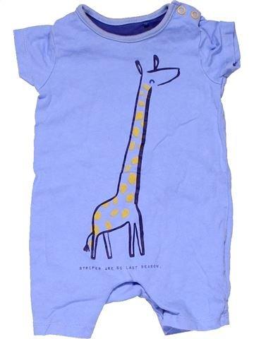 Short jumpsuit unisex MINIMAN blue 3 months summer #7597_1