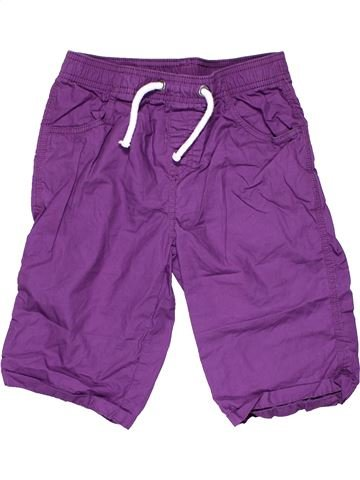 Capri pants boy TU purple 9 years summer #7833_1