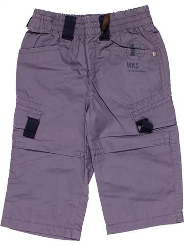 Trouser boy IKKS purple 6 months winter #7837_1