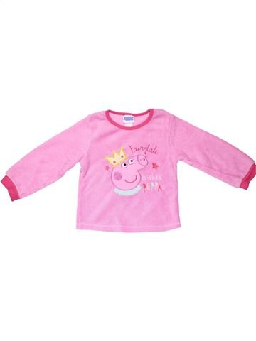 Sweatshirt girl PEPPA PIG pink 4 years winter #8259_1
