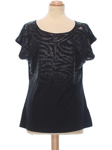 Short Sleeve Top woman ADIDAS UK 14 (L) summer #8461_1