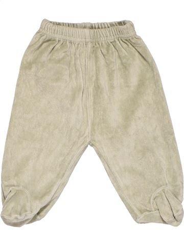 Leggings boy OKAY beige 6 months winter #8573_1