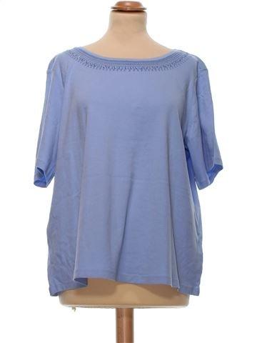 Short Sleeve Top woman M&S UK 20 (XL) summer #8880_1