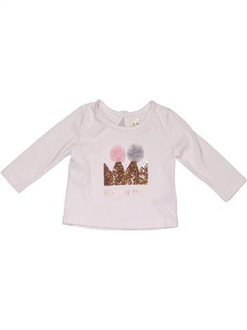 da65cfc931439d Long sleeve T-shirt girl PRIMARK white 6 months winter #89499_1
