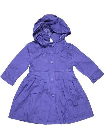 Trench coat girl STORE TWENTY ONE purple 4 years winter #9496_1
