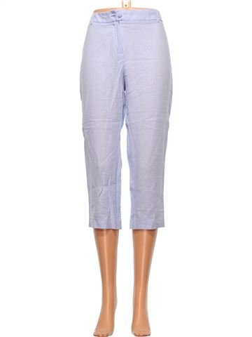 Cropped Trouser woman M&S UK 12 (M) summer #9542_1
