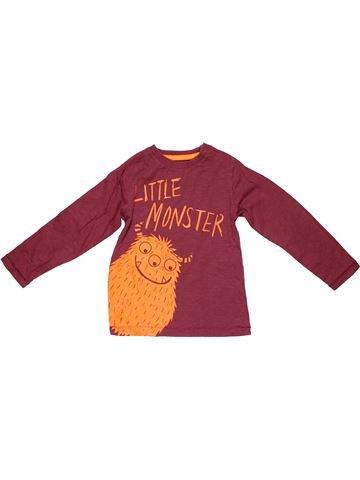 Long sleeve T-shirt boy BLUEZOO purple 4 years winter #9727_1