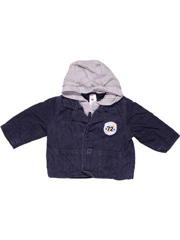 Jacket boy BABY CLUB white 6 months winter #9906_1